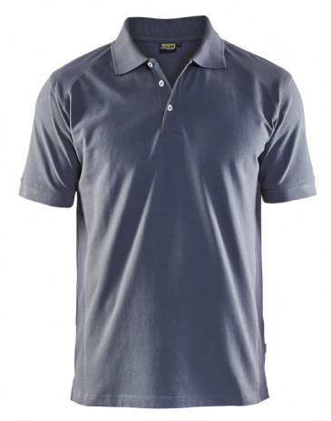 Blaklader 3324 Pique 2 Colour Polo Shirt (Grey)